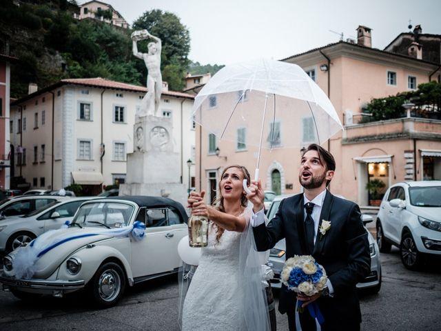 Il matrimonio di Giuliano e Silvia a Viareggio, Lucca 107