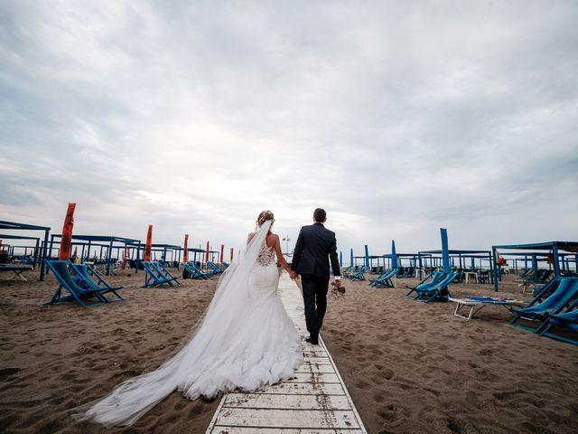 Il matrimonio di Giuliano e Silvia a Viareggio, Lucca 115