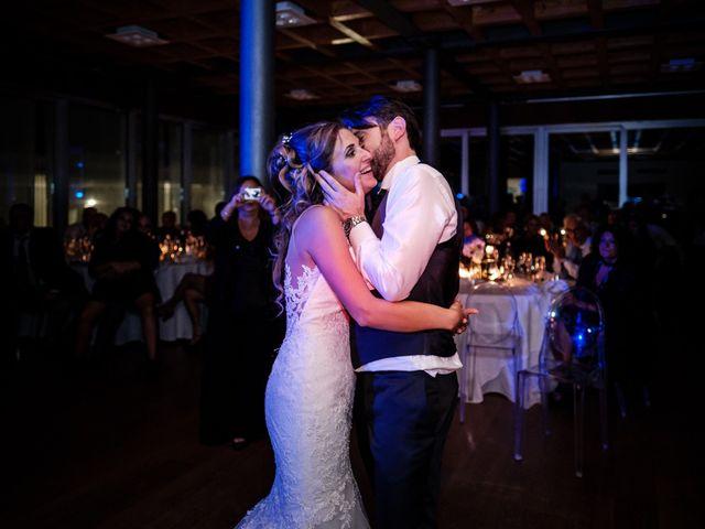 Il matrimonio di Giuliano e Silvia a Viareggio, Lucca 147