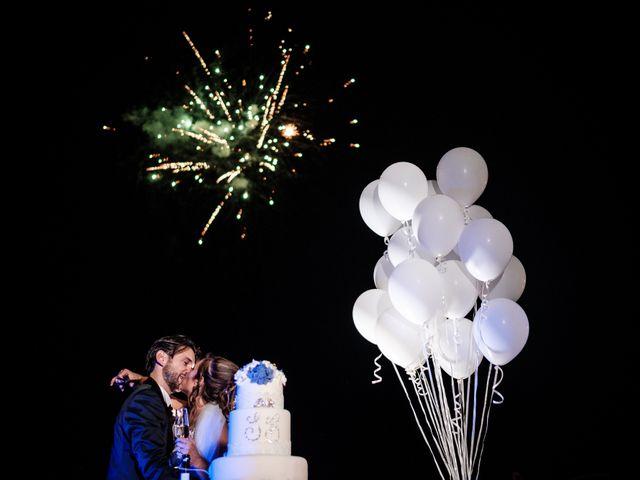 Il matrimonio di Giuliano e Silvia a Viareggio, Lucca 162