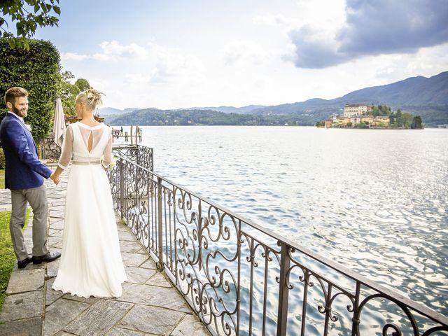 Il matrimonio di Bruno e Simona a Orta San Giulio, Novara 2