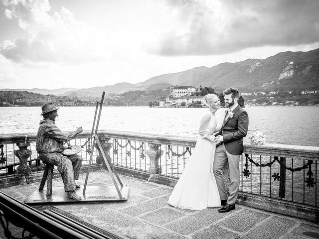 Il matrimonio di Bruno e Simona a Orta San Giulio, Novara 13