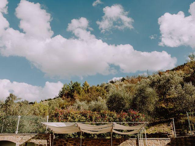 Il matrimonio di Hayes e Lyric a Cortona, Arezzo 61