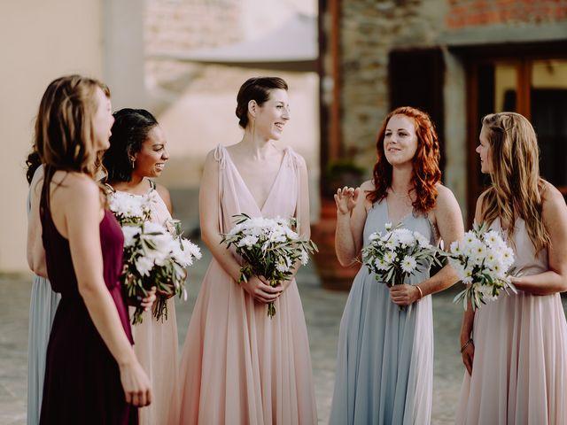 Il matrimonio di Hayes e Lyric a Cortona, Arezzo 69