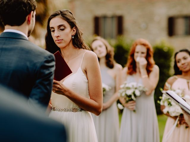 Il matrimonio di Hayes e Lyric a Cortona, Arezzo 79