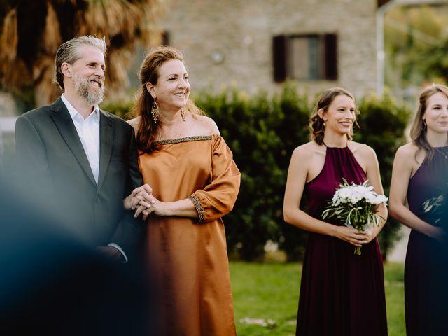 Il matrimonio di Hayes e Lyric a Cortona, Arezzo 82