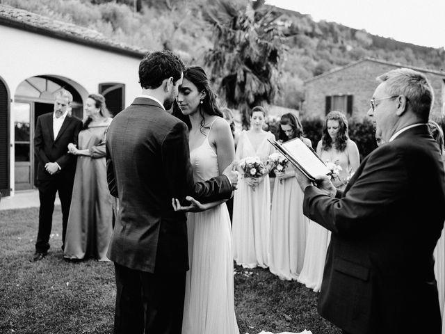 Il matrimonio di Hayes e Lyric a Cortona, Arezzo 83