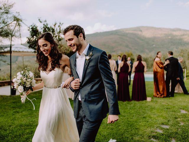 Il matrimonio di Hayes e Lyric a Cortona, Arezzo 92