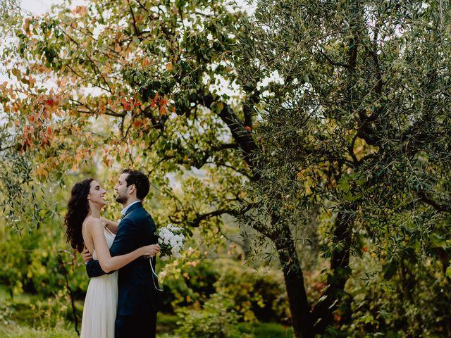 Il matrimonio di Hayes e Lyric a Cortona, Arezzo 94