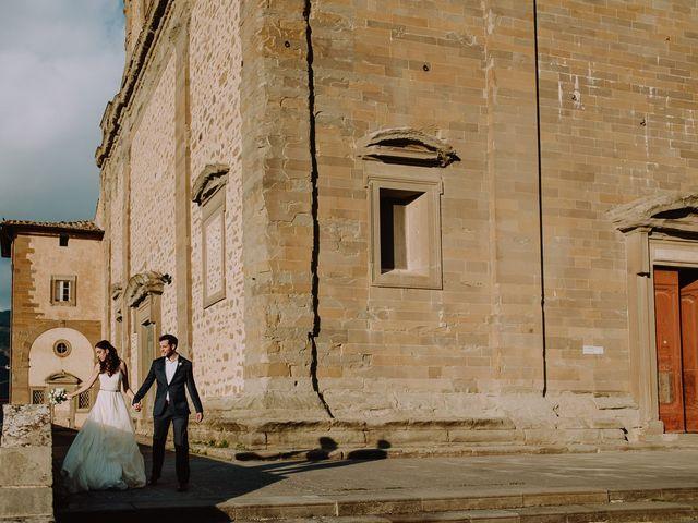 Il matrimonio di Hayes e Lyric a Cortona, Arezzo 108