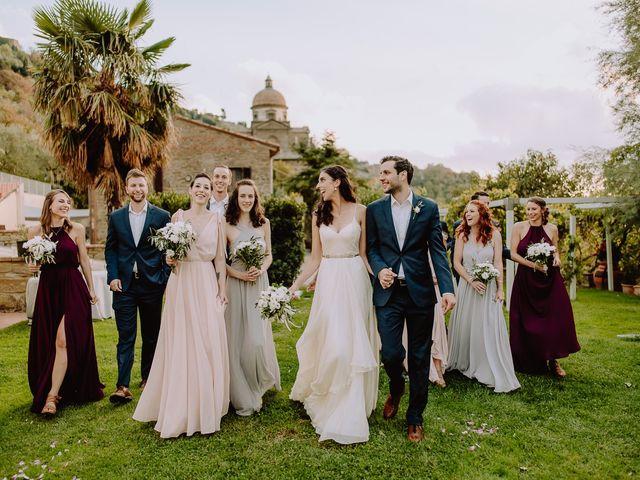 Il matrimonio di Hayes e Lyric a Cortona, Arezzo 126