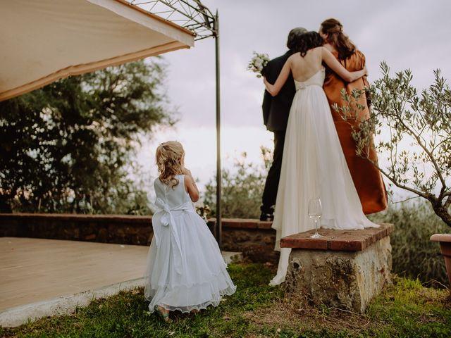 Il matrimonio di Hayes e Lyric a Cortona, Arezzo 140