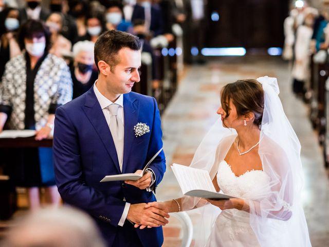 Il matrimonio di Mattia e Elena a Cantù, Como 31