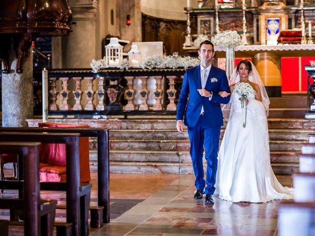 Il matrimonio di Mattia e Elena a Cantù, Como 33