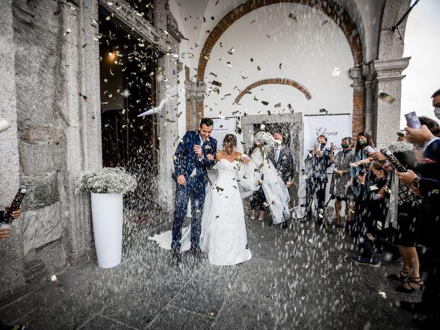 Il matrimonio di Mattia e Elena a Cantù, Como 34