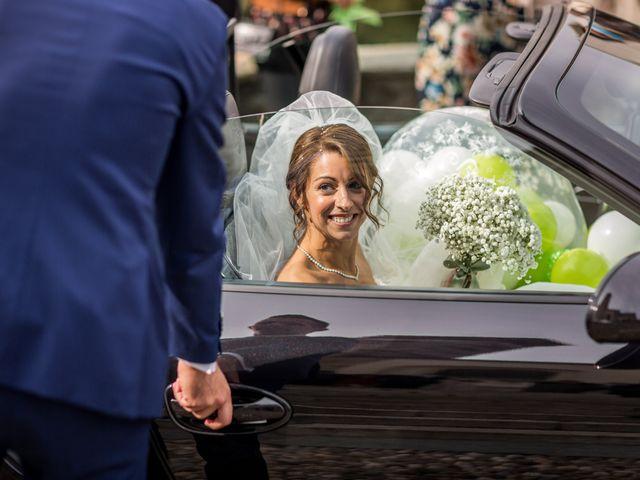 Il matrimonio di Mattia e Elena a Cantù, Como 37