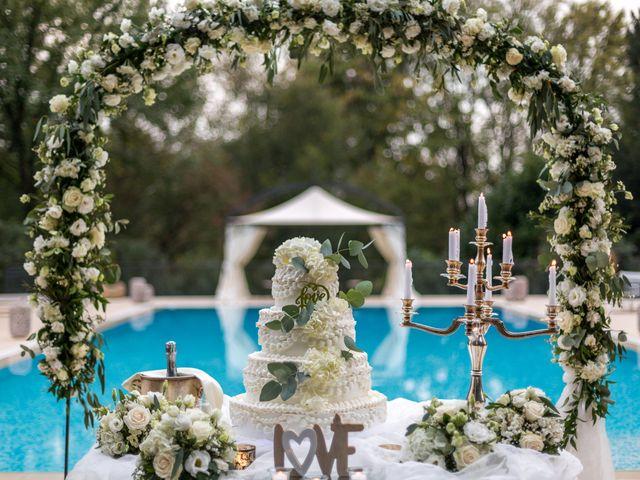 Il matrimonio di Mattia e Elena a Cantù, Como 61