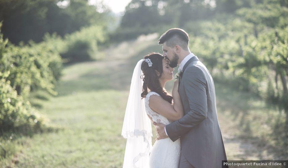 Il matrimonio di Giuseppe e Debora a Bibbiano, Reggio Emilia