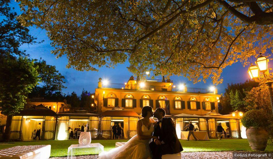 Pubblicazioni Matrimonio Olevano Romano : Reportage di nozze giulia lorenzo centro moda mampieri