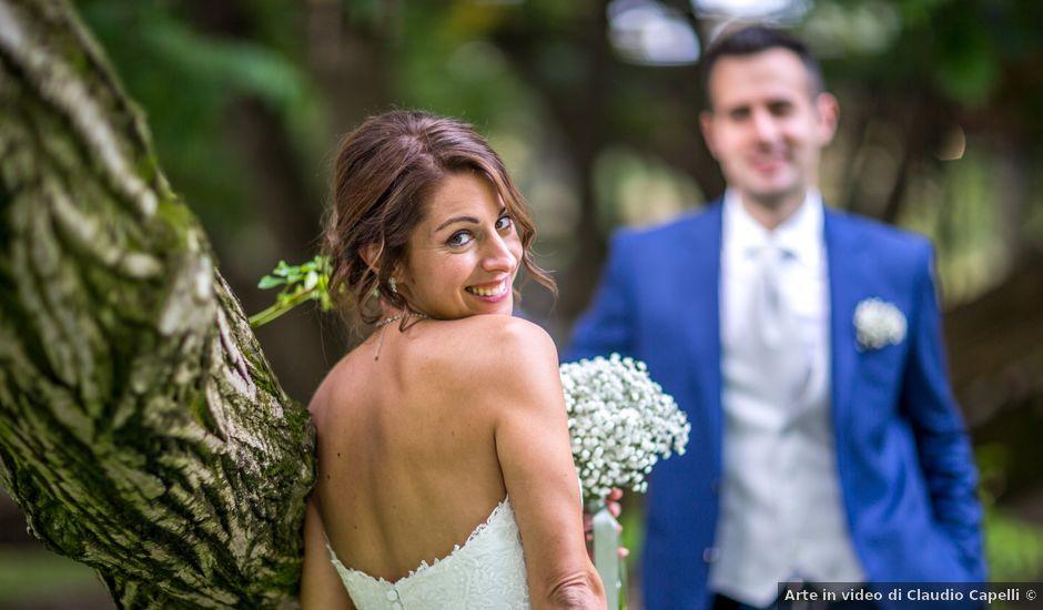 Il matrimonio di Mattia e Elena a Cantù, Como