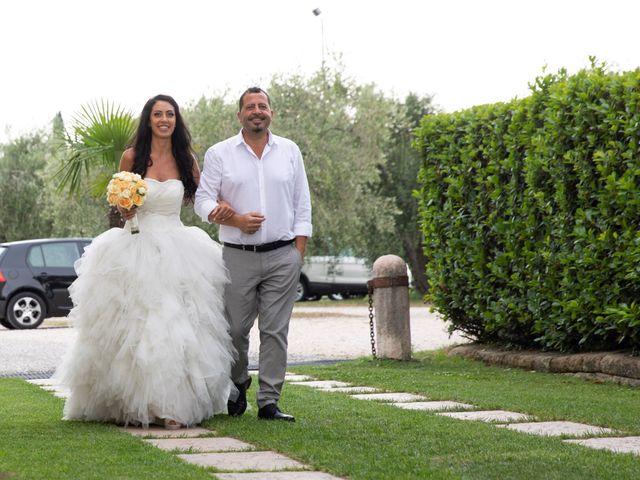 Il matrimonio di Francesco e Deborah a Pastrengo, Verona 7