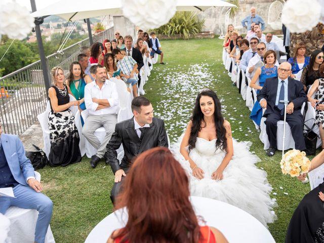 Il matrimonio di Francesco e Deborah a Pastrengo, Verona 12