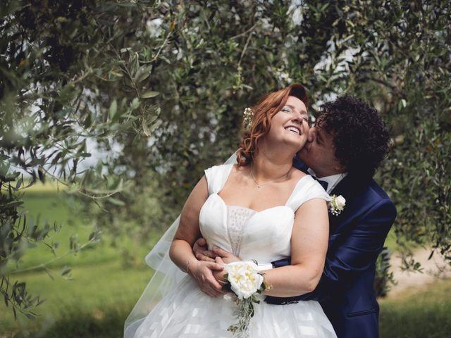 Il matrimonio di Rubens e Barbara a Pastrengo, Verona 69