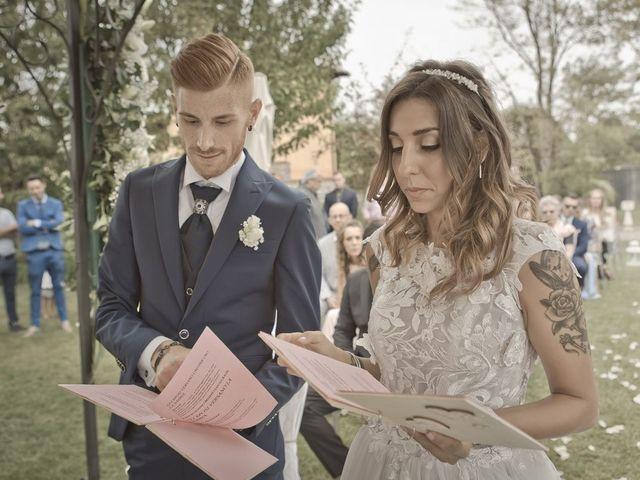 Il matrimonio di Luca e Elisa a Castrezzato, Brescia 143