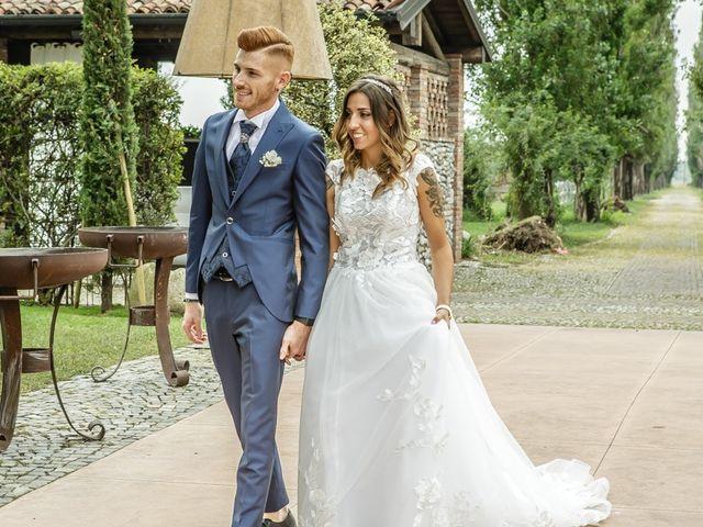 Il matrimonio di Luca e Elisa a Castrezzato, Brescia 167
