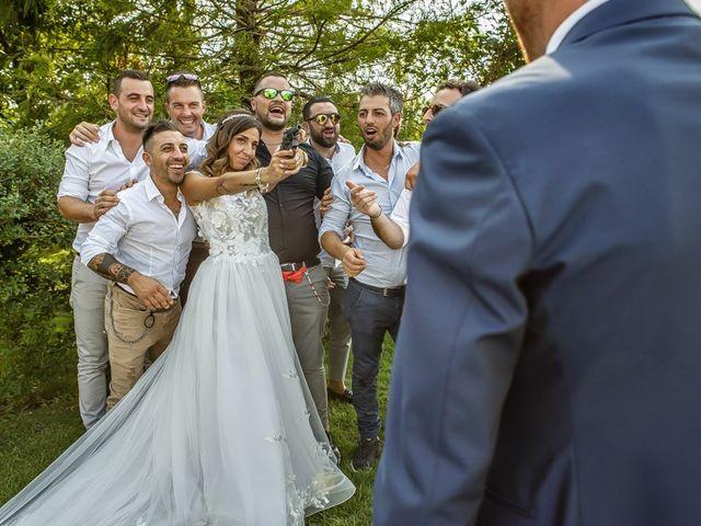 Il matrimonio di Luca e Elisa a Castrezzato, Brescia 184