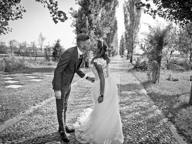 Il matrimonio di Luca e Elisa a Castrezzato, Brescia 187