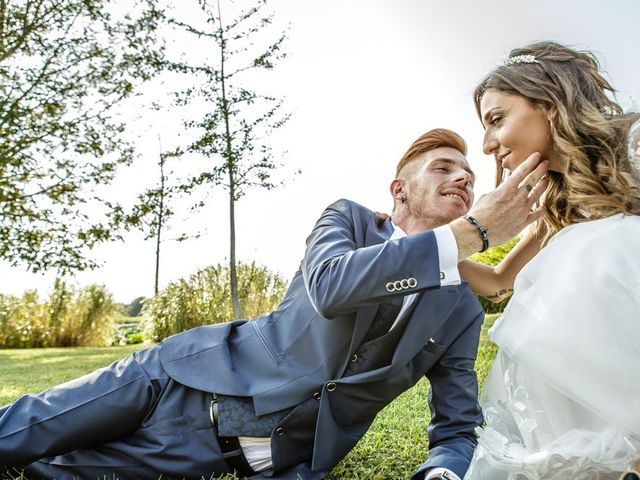 Il matrimonio di Luca e Elisa a Castrezzato, Brescia 190