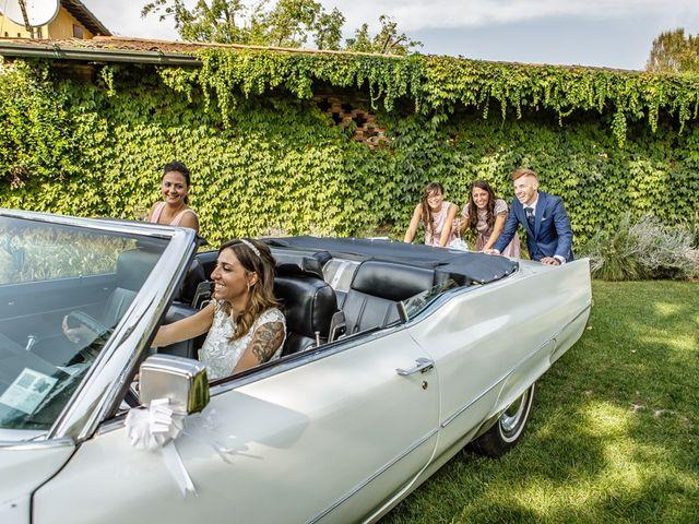 Il matrimonio di Luca e Elisa a Castrezzato, Brescia 208