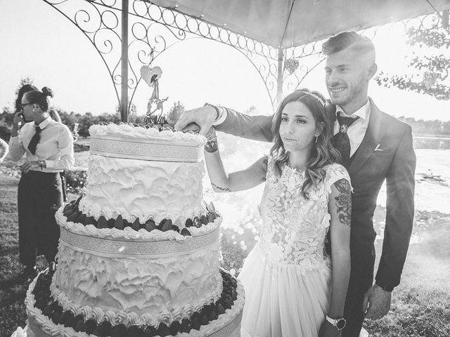 Il matrimonio di Luca e Elisa a Castrezzato, Brescia 238