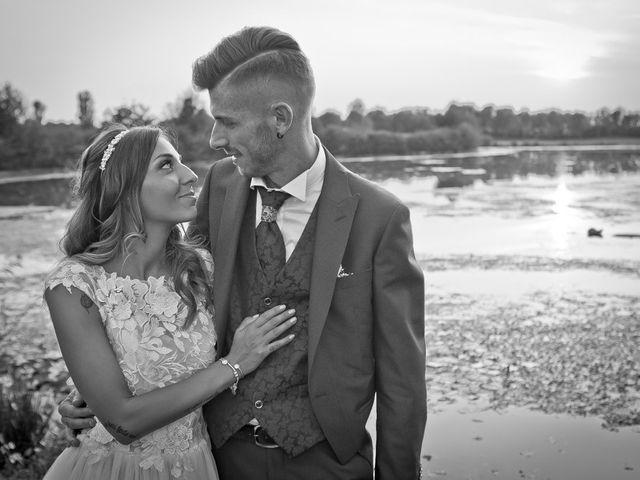 Il matrimonio di Luca e Elisa a Castrezzato, Brescia 256