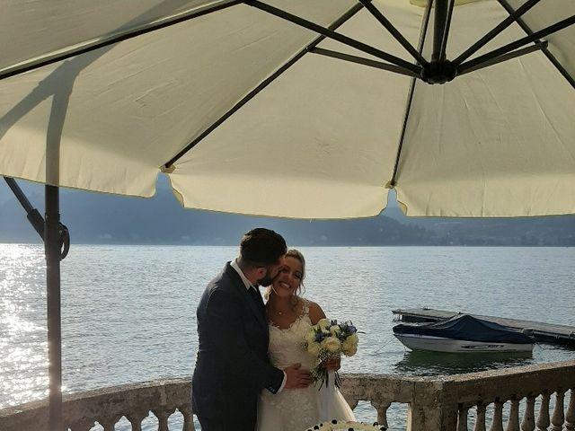 Il matrimonio di Davide e Simona a Angera, Varese 4
