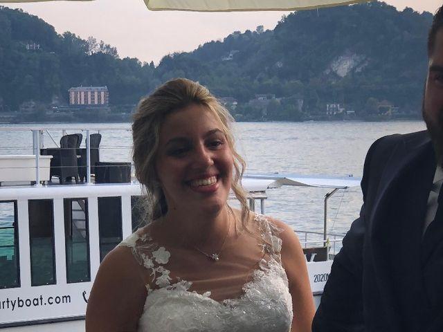 Il matrimonio di Davide e Simona a Angera, Varese 8