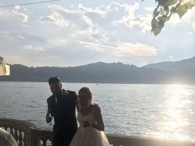 Il matrimonio di Davide e Simona a Angera, Varese 11