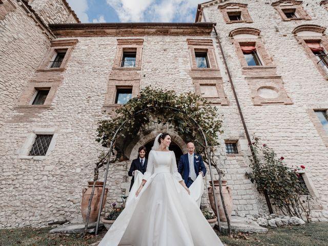 Il matrimonio di Andrea e Giulia a Greccio, Rieti 31