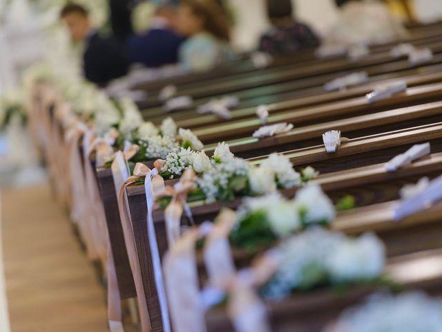 Il matrimonio di Giovanni e Francesca a Giffoni Sei Casali, Salerno 15