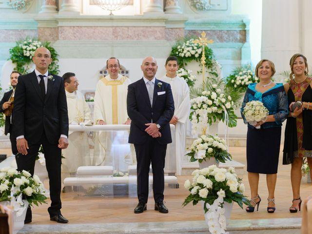 Il matrimonio di Giovanni e Francesca a Giffoni Sei Casali, Salerno 17