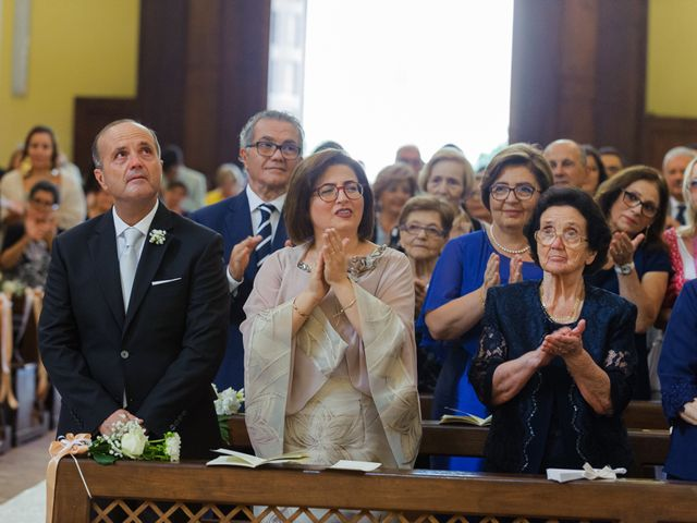 Il matrimonio di Giovanni e Francesca a Giffoni Sei Casali, Salerno 19