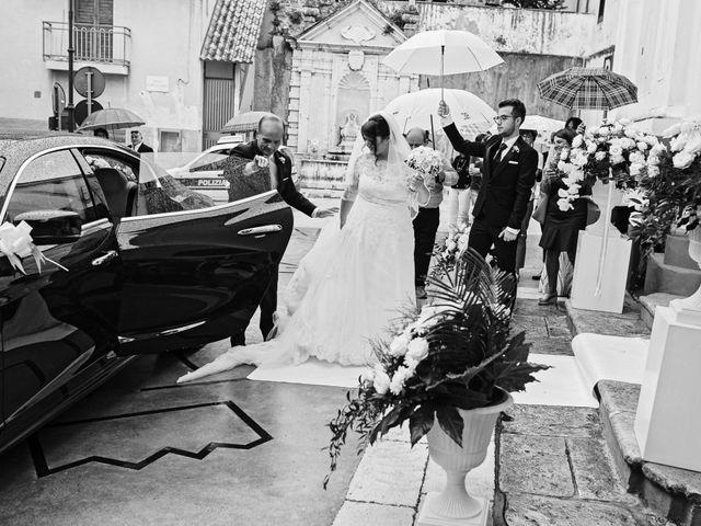Il matrimonio di Giovanni e Francesca a Giffoni Sei Casali, Salerno 55
