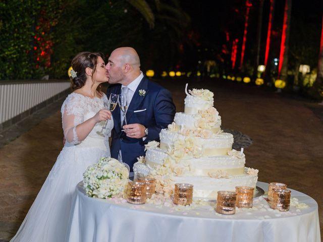 Il matrimonio di Giovanni e Francesca a Giffoni Sei Casali, Salerno 134