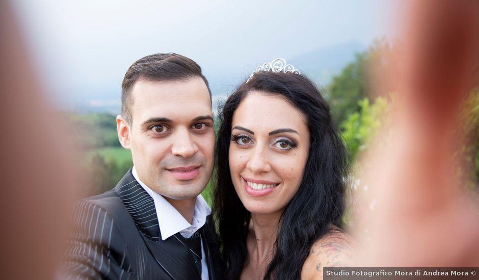 Il matrimonio di Francesco e Deborah a Pastrengo, Verona