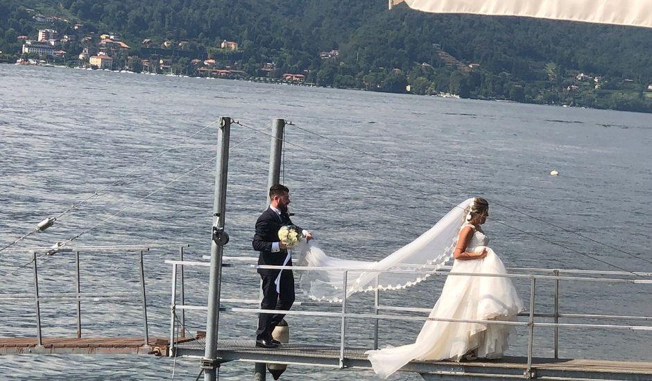 Il matrimonio di Davide e Simona a Angera, Varese