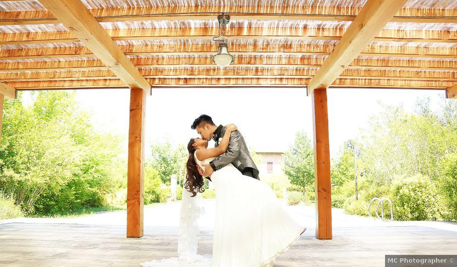 Il matrimonio di Floyd e Mary a Castel San Pietro Terme, Bologna