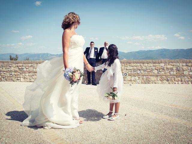 Il matrimonio di Roberto e Ilaria a Montefalco, Perugia 1
