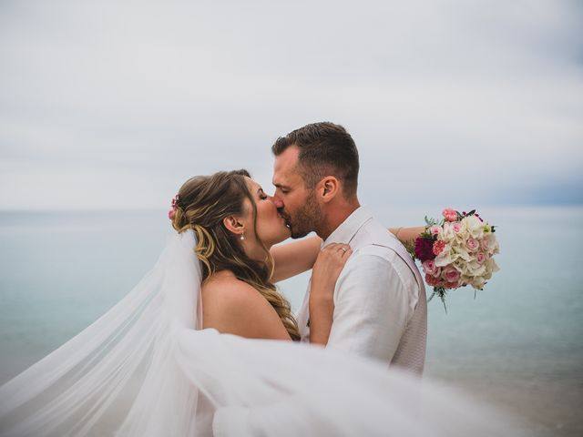 le nozze di Linda e Paul