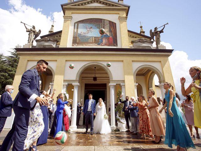 Il matrimonio di Federica e Alessandro a Osio Sotto, Bergamo 37
